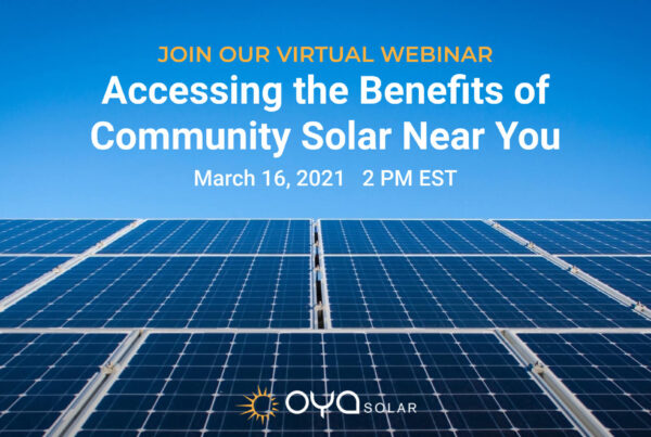 Benefits Of Community Solar